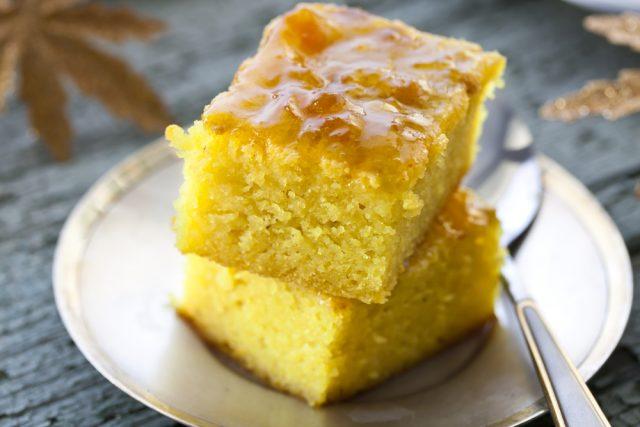 torta alla curcuma