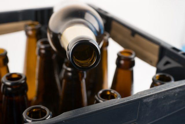 bottiglie vuote