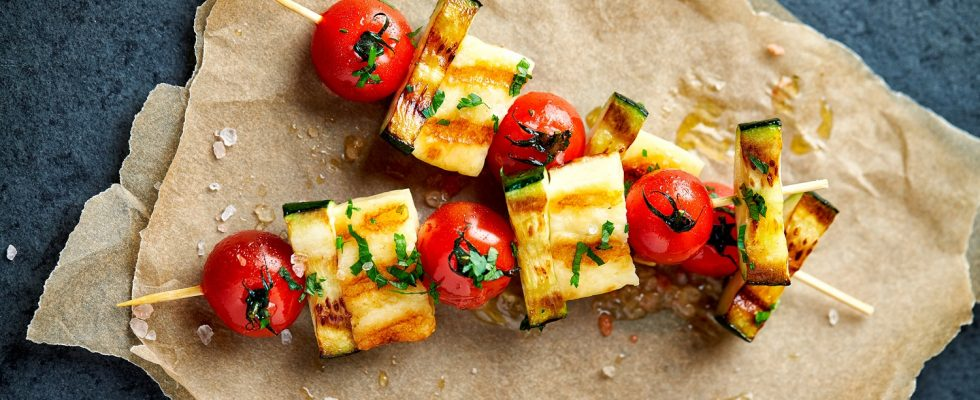La ricetta degli spiedini di verdure grigliate
