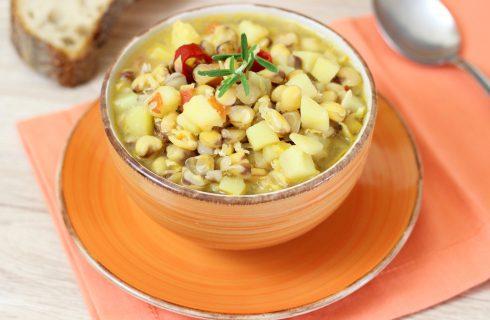 Zuppa di cicerchie, tradizionale e nutriente