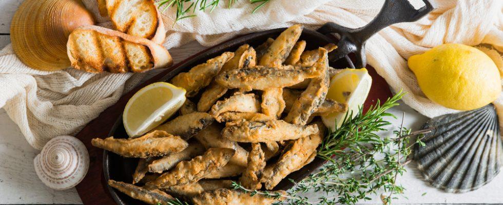 Sarde fritte: cucina tradizionale