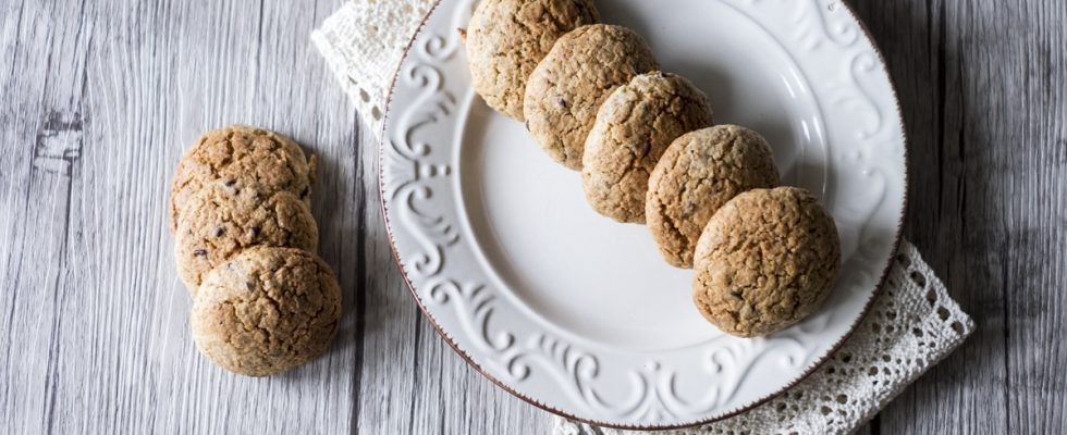 Biscotti con farina d'orzo
