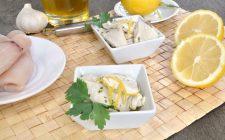 Bimby: bocconcini di pesce spada con il limone
