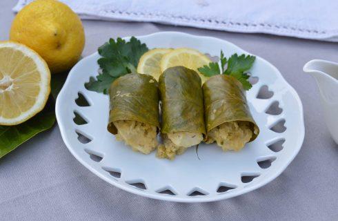 Bimby: bocconcini di pollo in foglie di limone