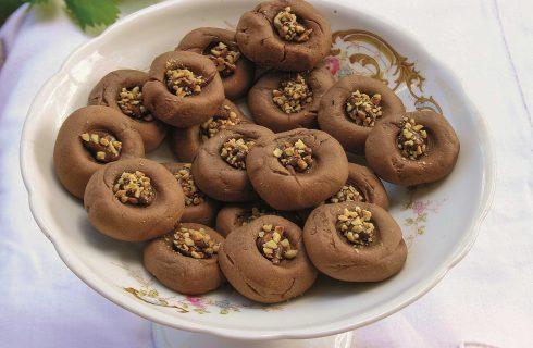 Biscotti morbidi alla crema gianduia con il bimby