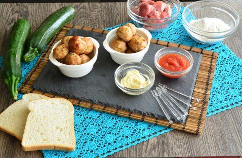 Polpette di maiale e zucchine con il bimby