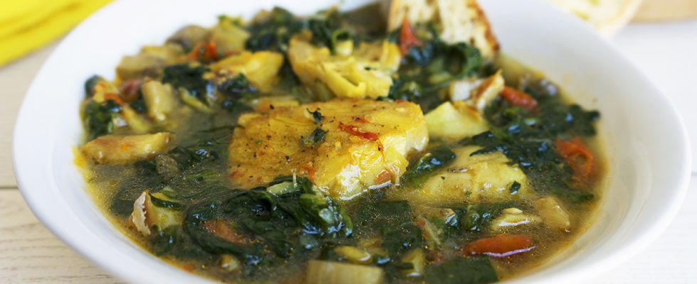 Calulu, lo stufato di pesce e verdure angolano