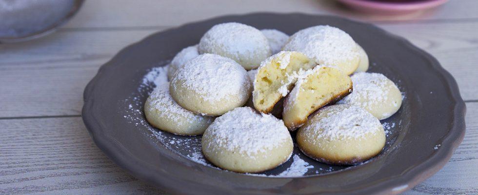 Biscotti cheesecake, una variante tascabile