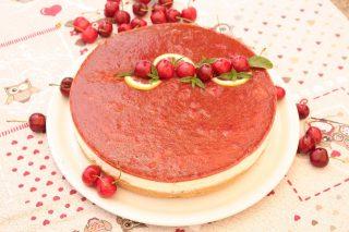Cheesecake di ciliegie con il bimby