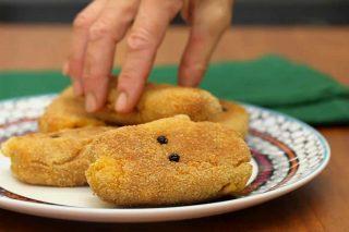 Fantasmini di zucca: un finger food da brividi