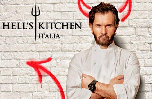 Hell's Kitchen Italia: torna la cucina infernale di Cracco