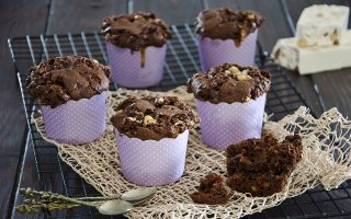 Muffin al torrone: la colazione invernale