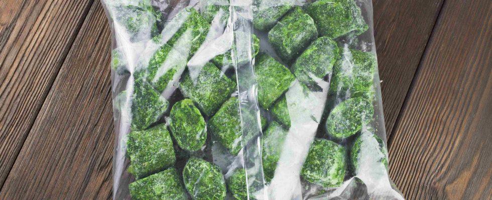 Ritirati spinaci surgelati per possibile contaminazione
