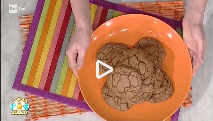 I biscotti al triplo cioccolato con la video ricetta della Prova del Cuoco