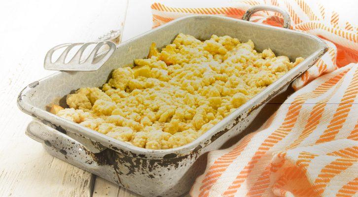 Il crumble di castagne e mascarpone con la ricetta sfiziosa