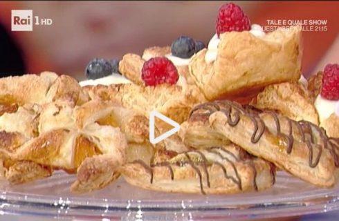 Dolcezze di pasta sfoglia: la video ricetta della Prova del Cuoco