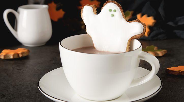 La ricetta dei fantasmini al cioccolato bianco per Halloween