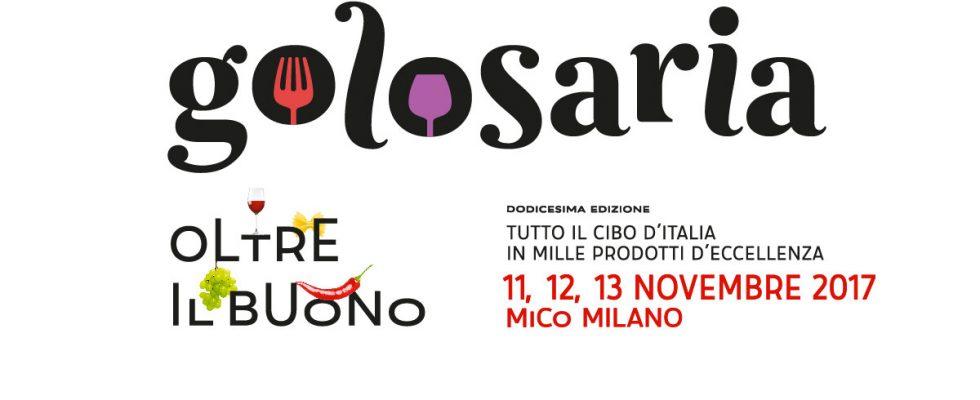 Golosaria Milano 2017: tutti gli appuntamenti dall'11 al 13 novembre