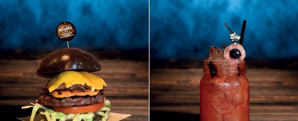 Hard Rock Cafe festeggia Halloween con il Voodoo Burger e il cocktail Evil Eye
