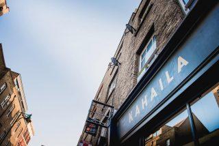 Kahaila Cafè, Londra