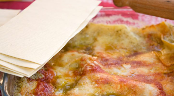 Lasagne al pesto di pistacchi e mortadella, la ricetta per il pranzo della domenica