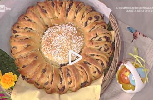 La torta margherita al cioccolato con la video ricetta della Prova del Cuoco