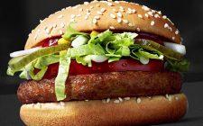 McDonald's propone il nuovo panino vegano