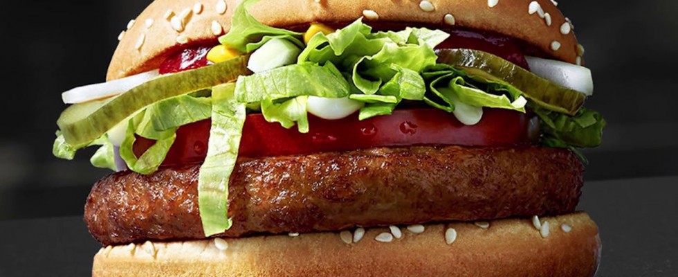 McDonald's: arriva il panino vegano