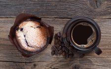 I muffin al caffè senza burro adatti alla colazione