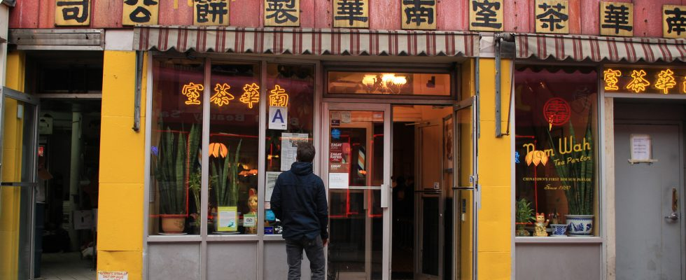 Nom Wah Tea Parlor, New York