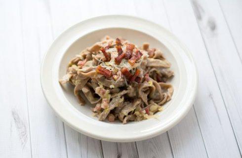Pasta con castagne e pancetta: la ricetta per il pranzo autunnale