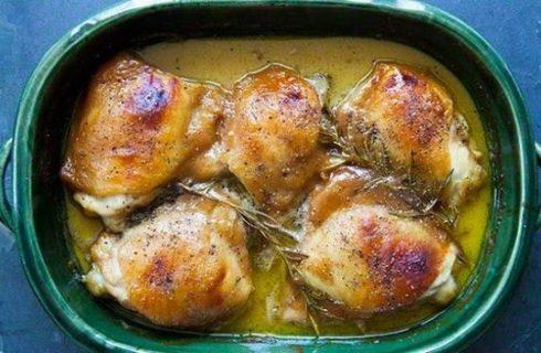 Pollo in fricò, la ricetta tradizionale umbra