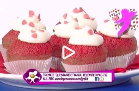 I red velvet cupcake della Prova del Cuoco: ecco la video ricetta