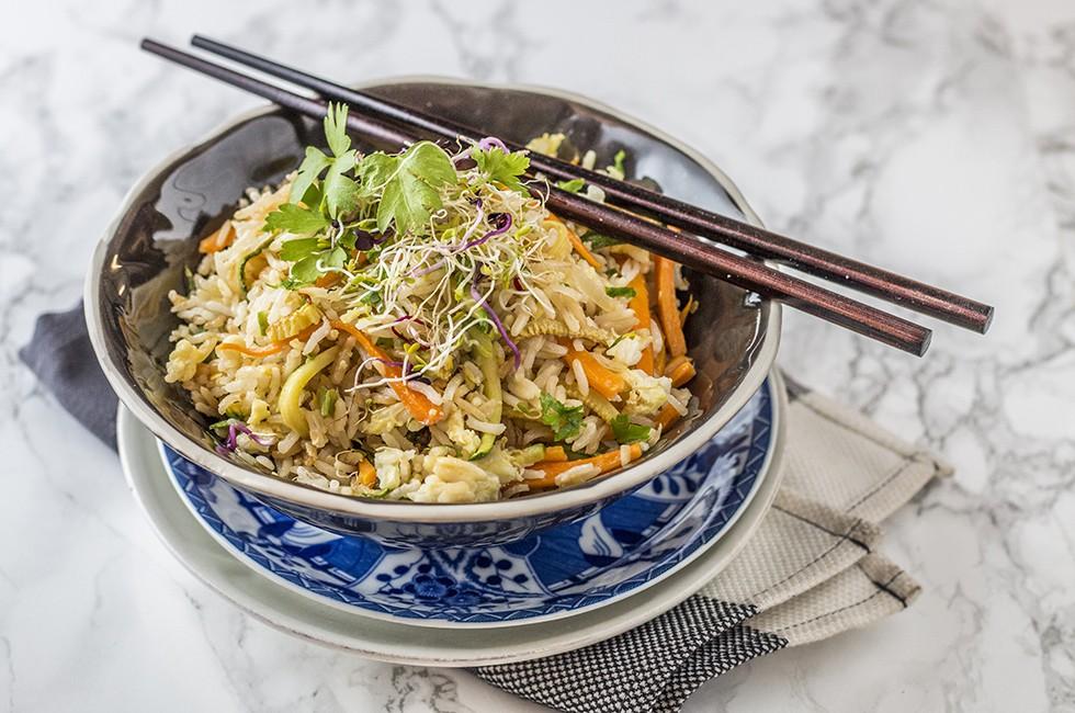 Ricetta riso fritto cinese vegetariano e semplice da fare for Ricette cucina cinese