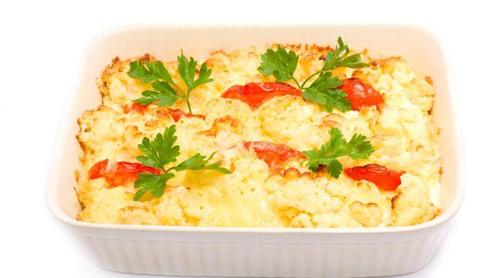 La ricetta dello sformato di cavolfiore al forno per un secondo piatto completo