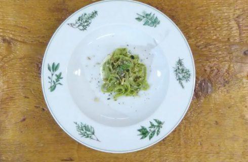 Tagliatelle Mont Blanc con ragù valdostano, ricetta dello chef Agostino Buillas