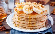 La ricetta dei pancake alla banana senza uova perfetti per la colazione