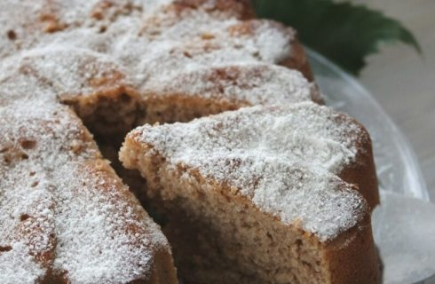 La torta di castagne da preparare con il Bimby