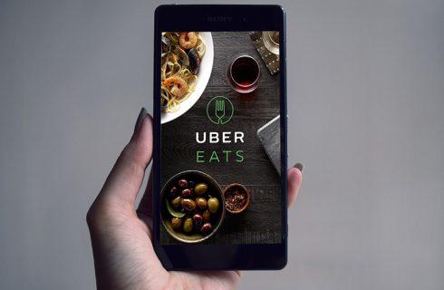 L'inarrestabile trend del food delivery: UberEATS
