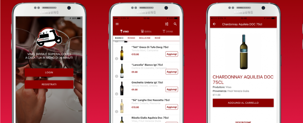 Winelivery: vino, birra e cocktail a portata di click
