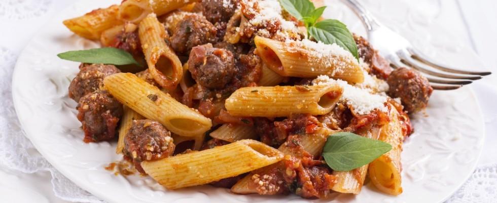 Ricetta Ragu Di Salsiccia.Ricetta Pasta Con Ragu Di Salsiccia Agrodolce
