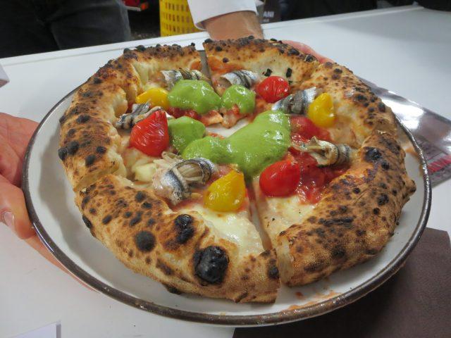 La pizza di Alessandro Grasso