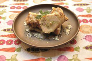 Arrosto di pollo con salsa al lime preparato con il bimby