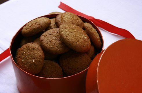 Bimby: biscottini di farina integrale con miele