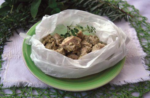 Bimby: bocconcini di pollo alle erbe aromatiche