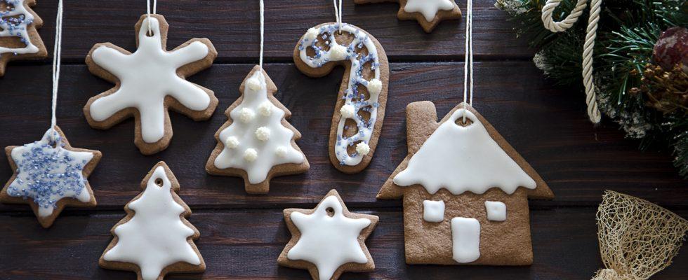 Biscotti Finti Per Albero Di Natale.Ricetta Biscotti Da Appendere Agrodolce