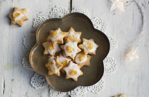 Biscotti di Natale arancia e cannella con il bimby