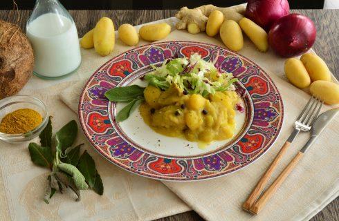 Bocconcini di carne al curry cucinati con il bimby