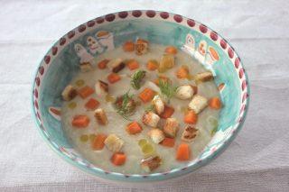 Crema di finocchi con carote con bimby
