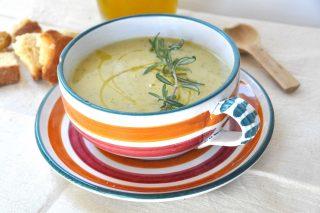 Crema di zucchine e ceci con bimby